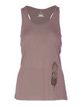 Meridian Line Feather Lite Tank, Peb Brown, Large