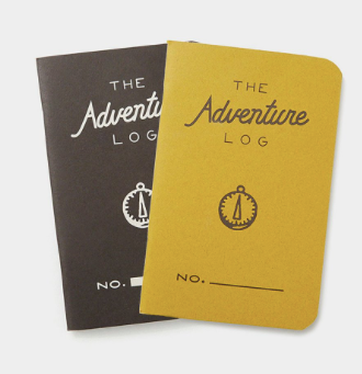 Word Adventure Log, Yellow (3-pk)
