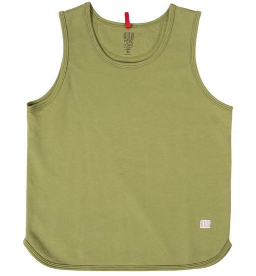 Topo Military Tank (Women's), Moss, Medium