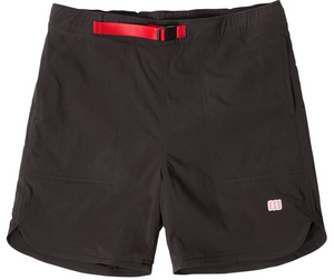 Topo River Shorts, Black, Medium