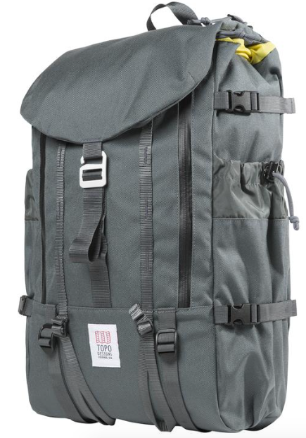 Topo Mountain Pack, Charcoal