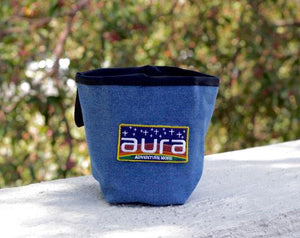 Aura Easy Denim Chalk Bag