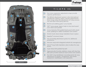 F-Stop Tilopa BC, Foliage Green (used) w/Large Pro ICU