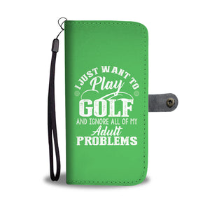 The Ultimate Golf Wallet Case