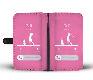 Golf is Calling Wallet-Phone Case