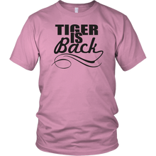 The Tiger is Back Golf Tee