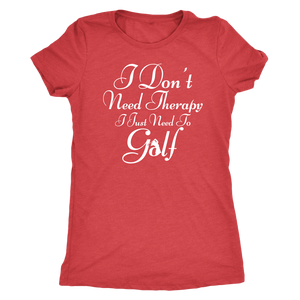 I Just Need Golf - Super Soft Golf Tee