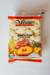 Vantia, Gnocchi with Potatoe