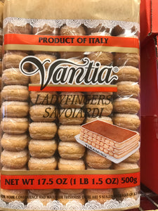 Vanita lady finger cookies
