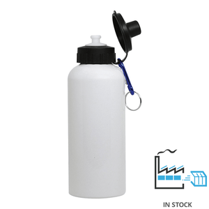 600 ml Aluminum Sport Bottle - White