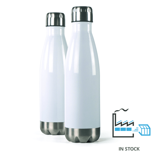 16 oz. Stainless Steel Insulated Water Bottle - White