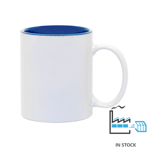 11 oz. Ceramic Mug - Two-Tone - Cambridge Blue - Orca
