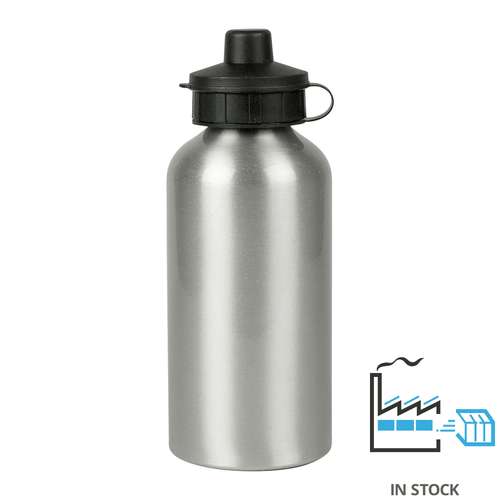 500 ml Aluminum Sport Bottle - Silver