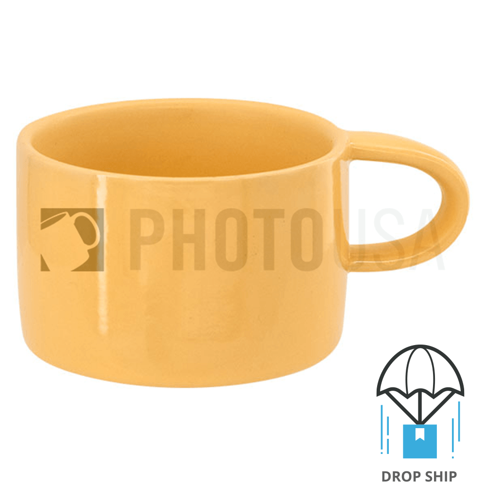 6 oz. Straight-Wall Macaroon Color Coffee Mug