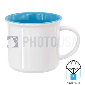 8oz Inner Color Ceramic Enamel Cup
