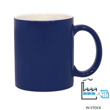 11oz. Color Changing Mug - Blue - Matte