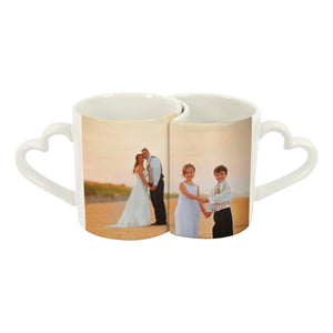 11 oz 2-Piece Lover's Mug Set