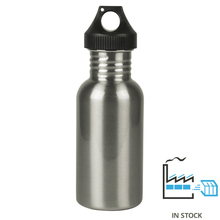 500 ml Stainless Steel Sport Bottle - Silver