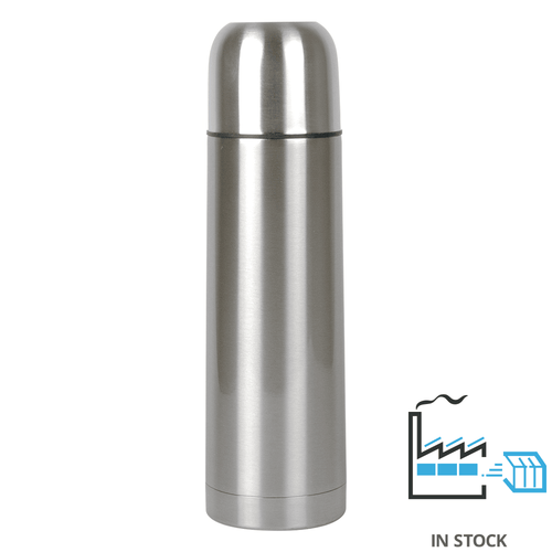 750 ml Stainless Steel Thermal Bottle - Silver