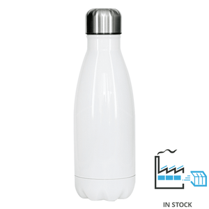 350 ml Stainless Steel Insulated Water Bottle - White