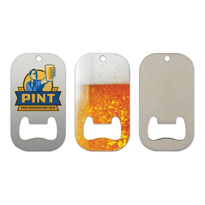 Stainless Steel Bottle Opener - 03