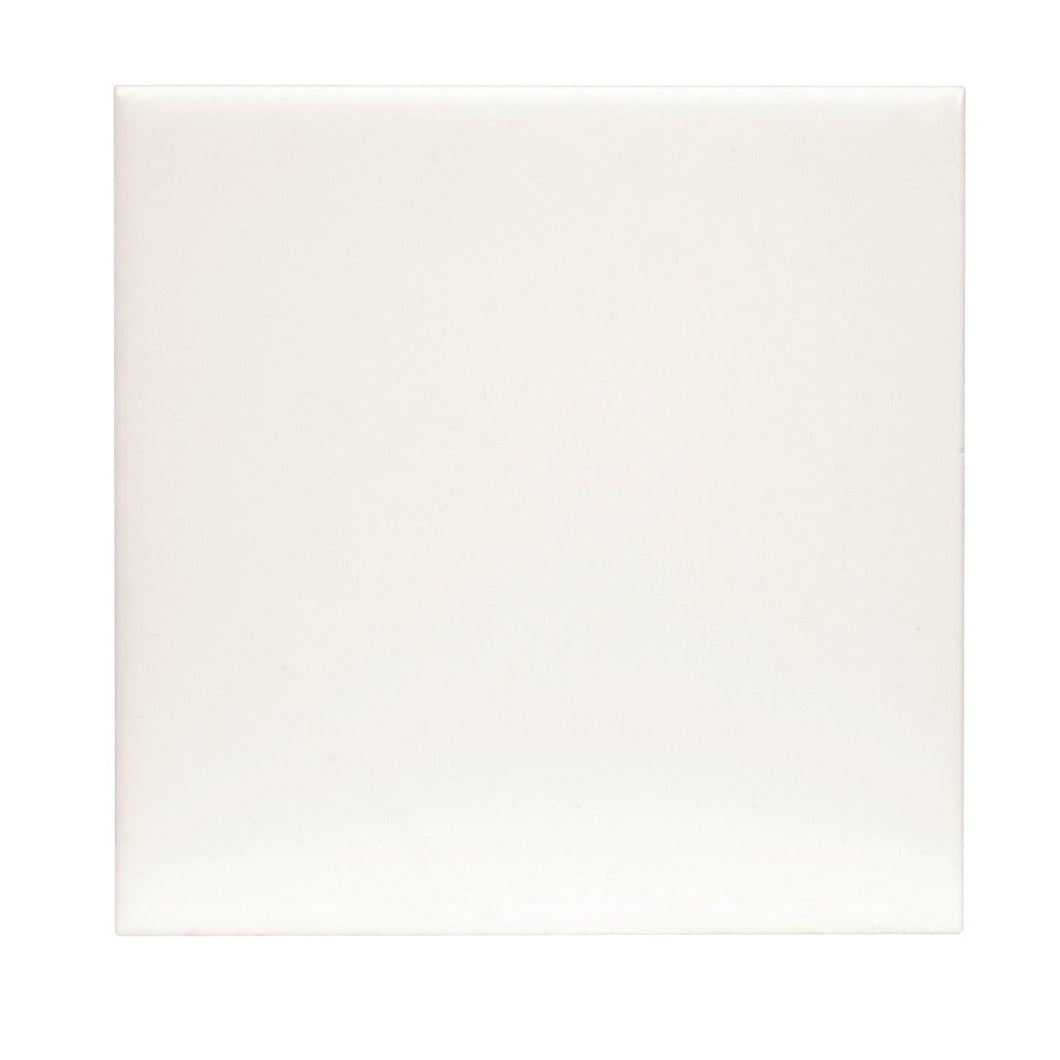 Square Ceramic Tile, Glossy, 4.25