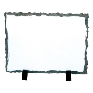 "Photo Slate  - Medium Rectangle - Glossy - 7.2"" x 5.85"" x .375"""