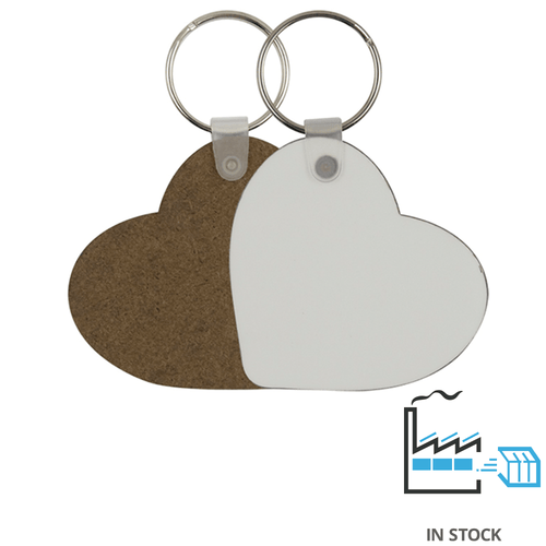 Key Ring - MDF - Heart