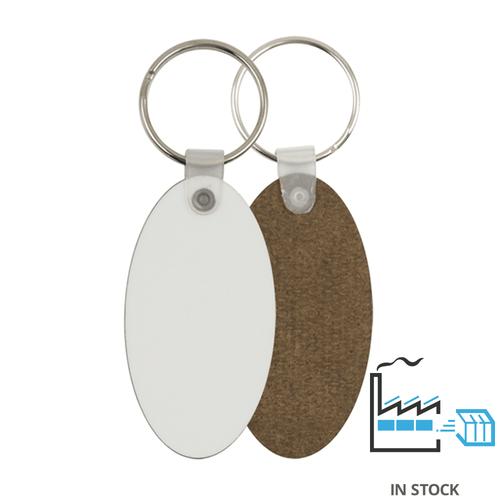 Key Ring - MDF - Oval