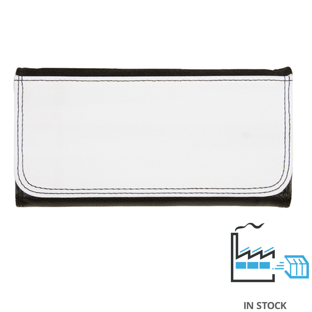 Leatherette Wallet- Large