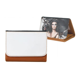 Medium Top Grain Leather Wallet
