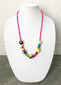 "mixed beads - 28"" - STYLE 023"