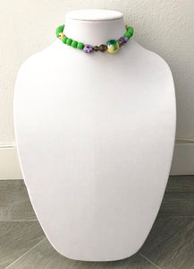 "mixed beads - 14"" - STYLE 040"