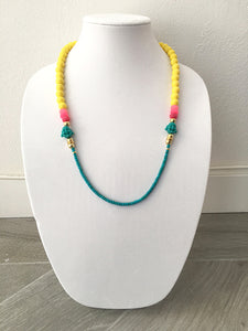 "mixed beads - 28"" - STYLE 066"