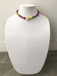 "mixed beads - 15"" - STYLE 073"