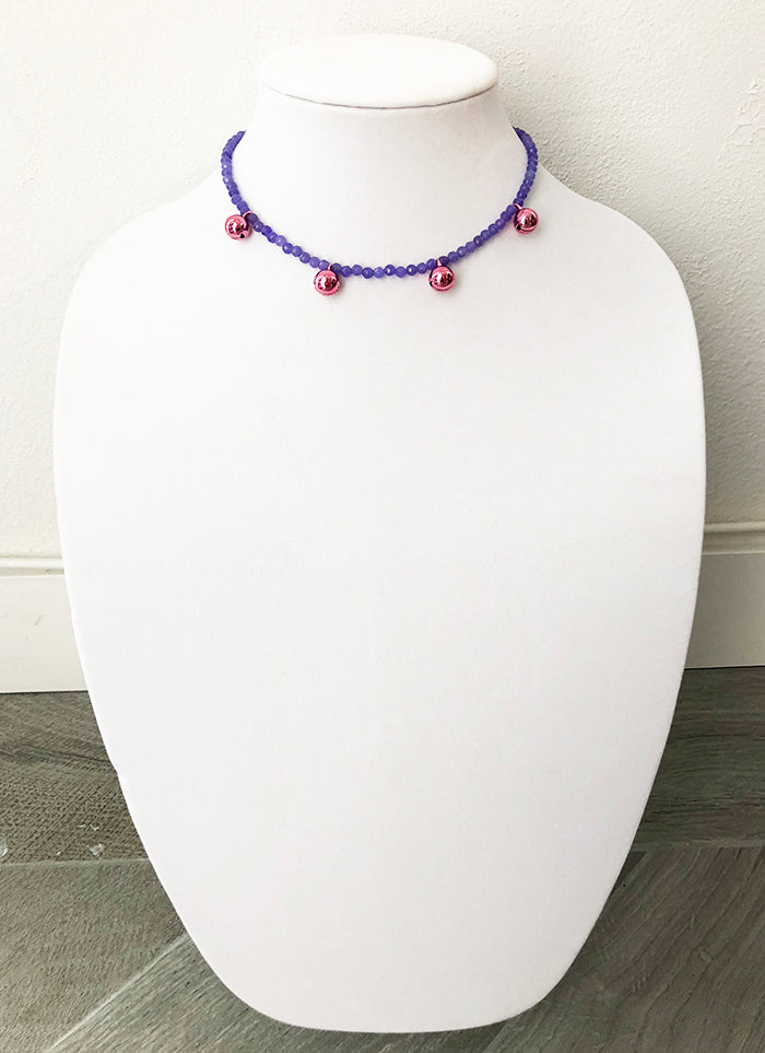 mixed beads with bells - 14.5