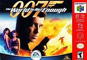 007: The World Is Not Enough (Blue) Game - Nintendo 64 (N64)