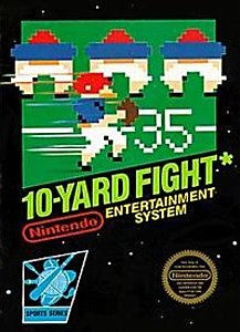 10-Yard Fight Game - Nintendo (NES)