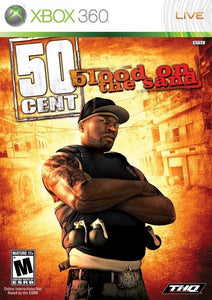 50 Cent Blood on the Sand Game - Xbox 360 - Disc Only