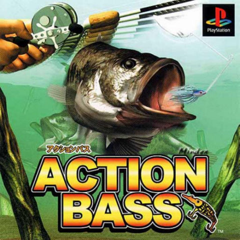 Action Bass Game - PlayStation 1 (PS1) - Disc Only