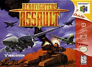 Aero Fighters Assault Game - Nintendo 64 (N64)
