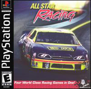 All Star Racing Game - PlayStation 1 (PS1)