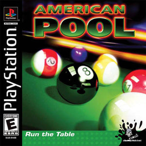 American Pool Game - PlayStation 1 (PS1)