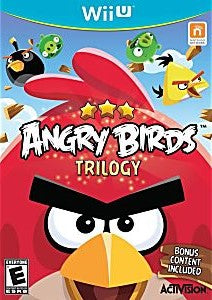 Angry Birds Trilogy Game - Nintendo Wii U