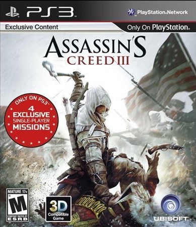 Assassin's Creed III Game - PlayStation 3 (PS3)