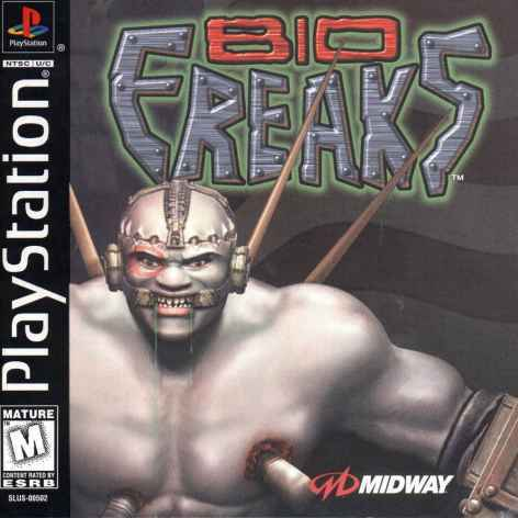 Bio F.R.E.A.K.S. Game - PlayStation 1 (PS1) - Disc Only