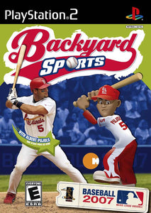 Backyard Sports Baseball 2007 Game - PlayStation 2 (PS2)