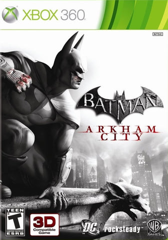 Batman Arkham City Game - Xbox 360