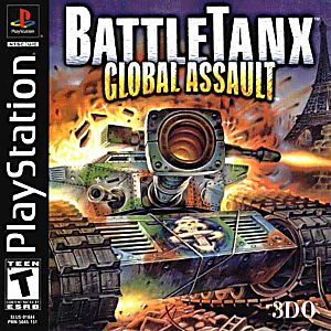BattleTanx: Global Assault Game - PlayStation 1 (PS1) - Disc Only