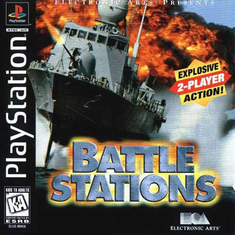 Battle Stations Game - PlayStation 1 (PS1) - Disc Only